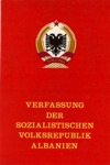 Verfassung der SVR Albanien